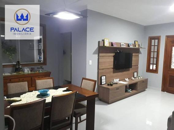 Casa Com 3 Dormitórios À Venda, 140 M² Por R$ 490.000 - Água Branca - Piracicaba/sp - Ca0123