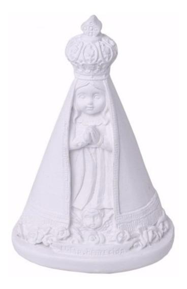 30 - Imagem Santinha Nossa Senhora Aparecida 15 Cm