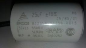 Capacitor Permanente 25uf 250v (portão Eletrônico)