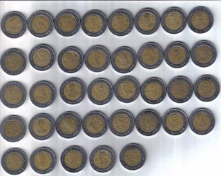 Moneda Conmemorativa De 5 Pesos Independencia Revolución