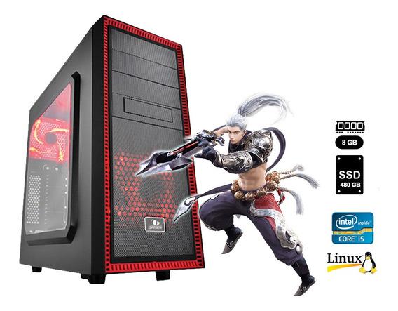 Pc Gamer2 Core I5 6ª G+8gb+ssd 480gb+rx570 4gb +frete Grátis