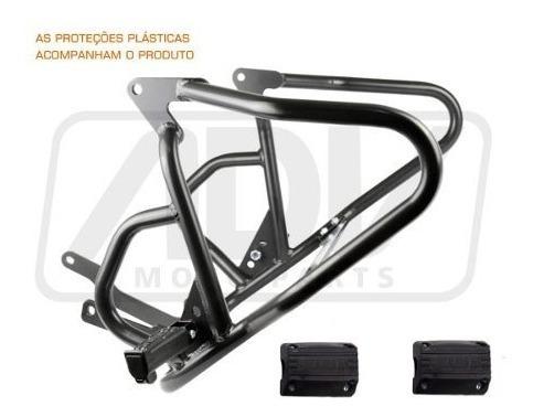 Protetor Motor Carenagem Chapam C/pedal Tiger 800 Xc/xcx/xrx