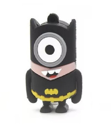 Pendrive 32 Gb Marvel Dc Liga Da Justiça Bat Minion