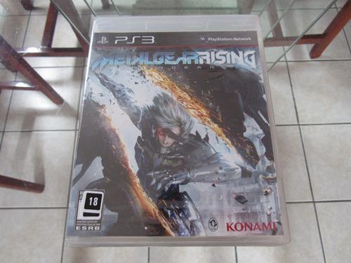 Metal Gear Rising Americano Lacrado P Playstation 3 Ps3