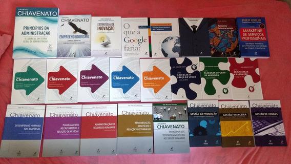 Kit Livros Administração Básico Ao Avançado - Mundialeditora