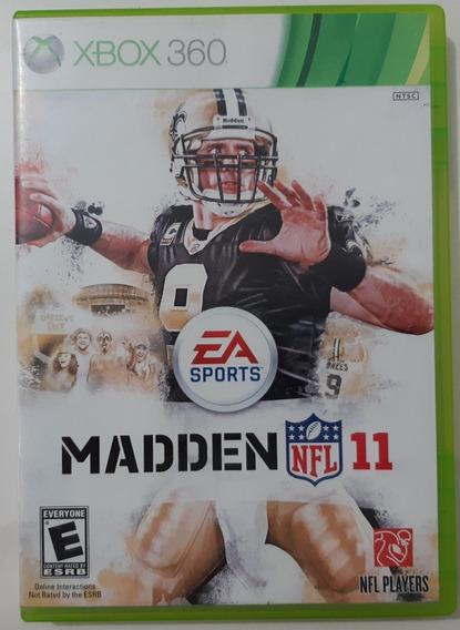 Madden 11 Xbox 360 Mídia Física