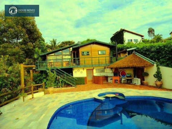 Chácara Com 5 Dormitórios À Venda, 4220 M² Por R$ 1.600.000,00 - Fazenda Marajoara - Campo Limpo Paulista/sp - Ch0050