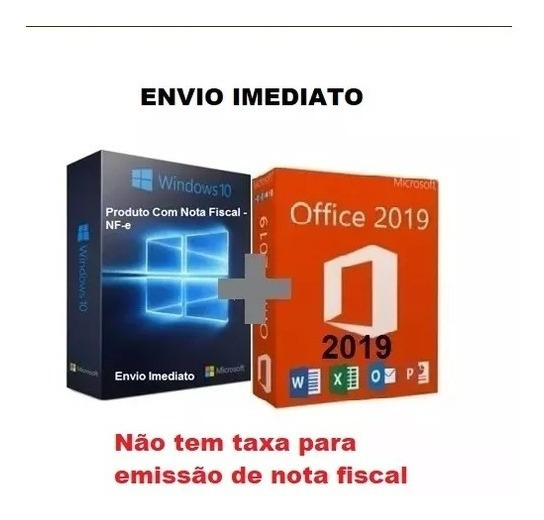 Licença Windows 10+office 2016 Pro Key Chave Origi Download