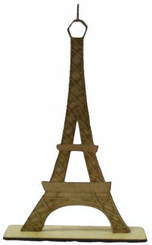 Imagem 1 de 1 de Kit 10 Lembrancinha Torre Eiffel Paris Centro De Mesa