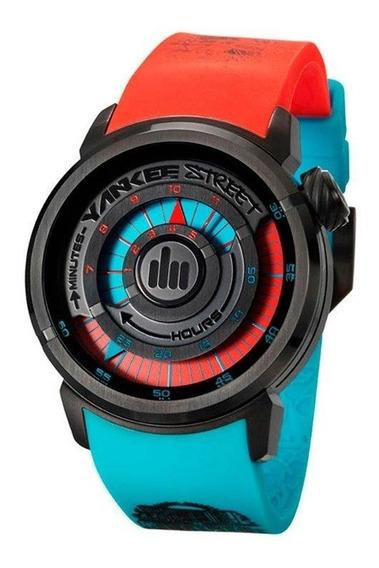 Relógio Yankee Street Masculino - Ys30158v - Cor Verde/azul