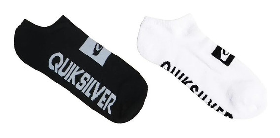 Medias Quiksilver Legacy Ankle B&w Pack 2