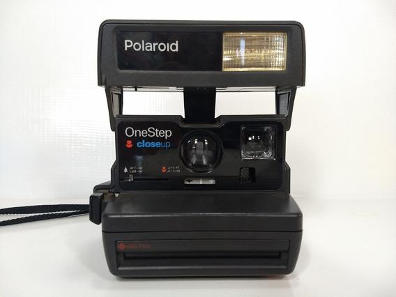 Antiga Câmera Polaroid Onestep Instantânea Filme Vintage