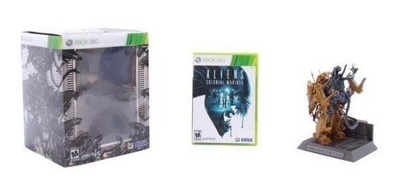 Aliens Colonial Marines Collector Edition - Xbox 360 - Lacrado Fábrica