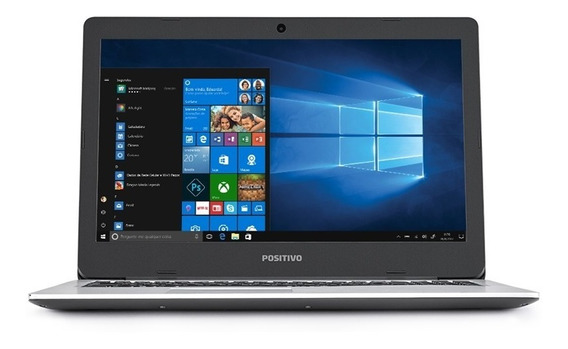 Notebook Positivo Motion I3 4gb 128ssd 15.6 Win10 I34128a-15