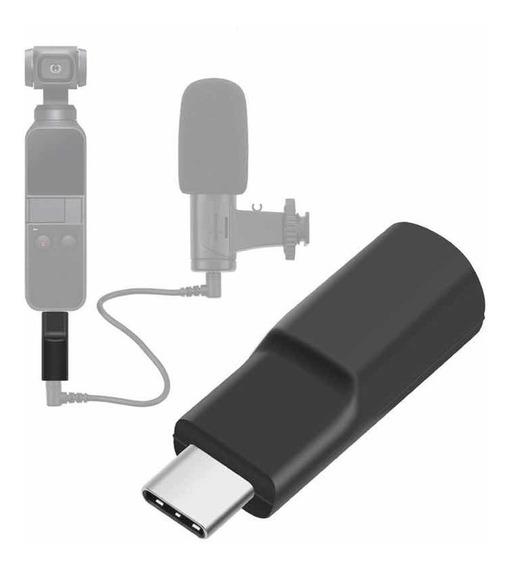 Dji Osmo Pocket - Adaptador De Áudio / Mic 3.5 Mm Paralelo
