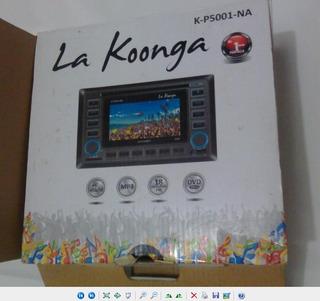 Reproductor Dvd Kp5001na Pantalla Doble Din La Koonga 99v