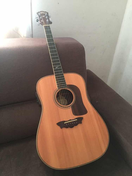 Violão Washburn D33s Ano 1997 Dreadnought