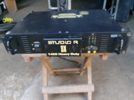 Amplificador Studio R Sx 1400 Heavy Duty