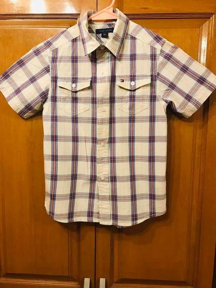 Camisa De Niño Tommy Hilfiger
