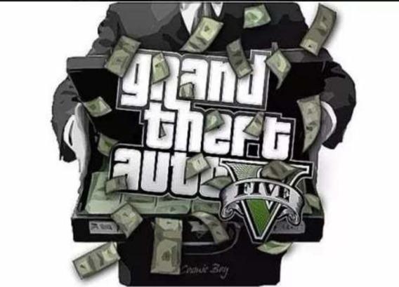 Gta V Online Pacote De Dinheiro De 10 Milhões + Rp Bônus Ps4