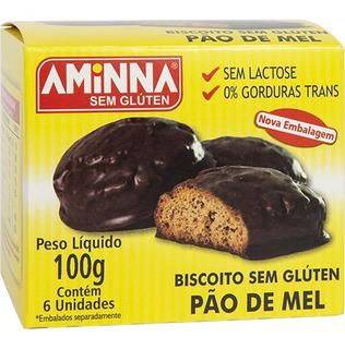 Pão De Mel Sem Glúten 100g - Aminna