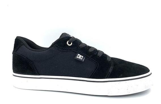 Tênis Dc Shoes Anvil La Preto Masculino Adys300200r