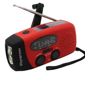 Radio Portatil Am/fm Com Lanterna E Carregador Para Celular