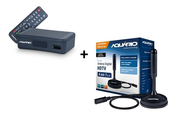Kit Conversor Digital Dtv-4000 + Antena Interna Dtv-150