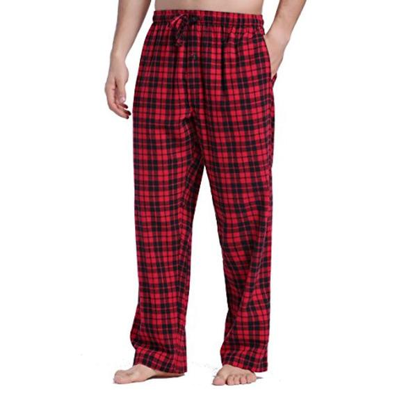 Cyz Pantalones De Pijama A Cuadros Franela
