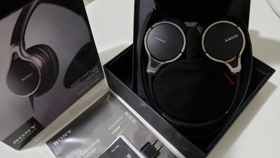 Fone De Ouvido Sony Noise Canceling Mdr-10 Rnc