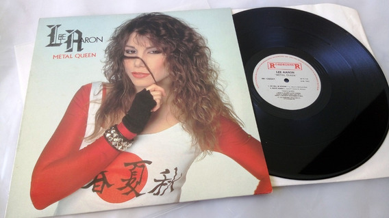 Lp Lee Aaron - Metal Queen - Single 45 Rpm Importado