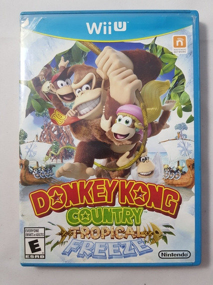 Donkey Kong Country Tropical Freeze Wii U Mídia Física