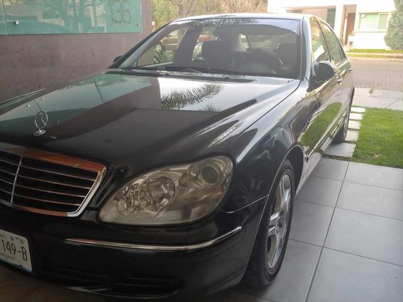 Mercedes-benz Clase S 5.0l 500 Mt 2005