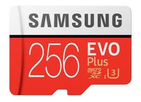 Samsung Micro Sdxc Evo Plus U3 100mb/s 4k 256gb Hero7 S9 S9+