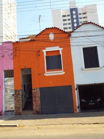 Casa Com 1 Dormitório Para Alugar, 100 M² Por R$ 1.500/mês - Vila Regente Feijó - São Paulo/sp - Ca0886