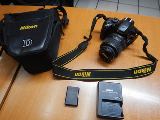 Cámara Digital Nikon D3200 Profesional (incluye Funda)