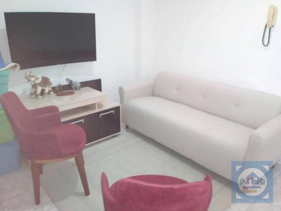 Apartamento Com 1 Dormitório À Venda, 42 M² Por R$ 244.000,00 - Ponta Da Praia - Santos/sp - Ap4119