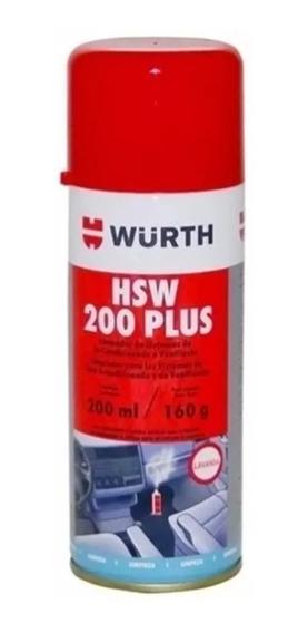 Higienizador Hsw Limpa Ar Condicionado Wurth Lavanda