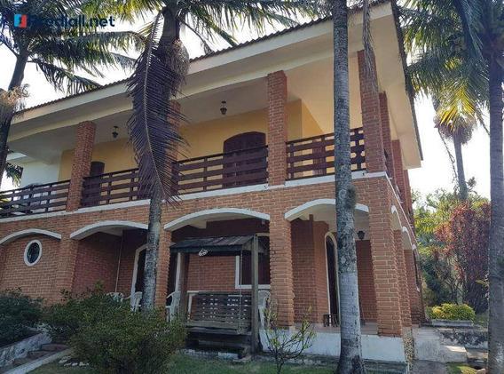 Chácara Com 4 Dormitórios À Venda, 1200 M² - Analandia - São Paulo/sp - Ch0011