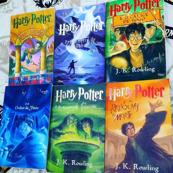 Box Harry Potter - 6 Livros - Jk Rowling