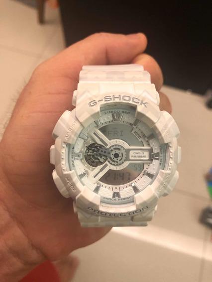 Relógio Casio Gshock Edição Limitada Branco Ref Ga-110tp
