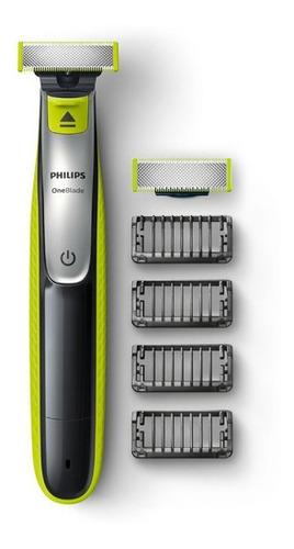 Imagen 1 de 6 de Rasuradora Eléctrica Philips Oneblade Qp2520/30 One Blade