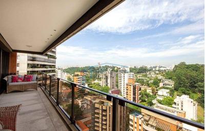 Magnífico Apartamento Com Rico Acabamento Em Cada Detalhe 306m² - 3 Suites - 3 Vagas - Ap13844