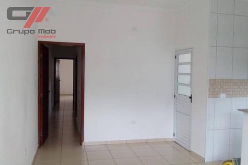 Imagem 1 de 24 de Casa Com 2 Dormitórios, 65 M² - Venda Por R$ 235.000,00 Ou Aluguel Por R$ 1.420,00 - Residencial São José - Taubaté/sp - Ca0097