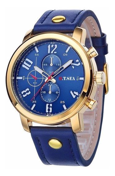 Relógio De Luxo Original Na Caixa Barato + Brinde