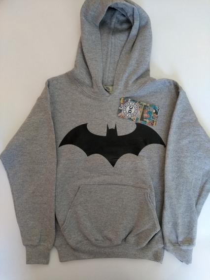 Sudadera Batman Dc Comics Original Para Niño Envio Gratis