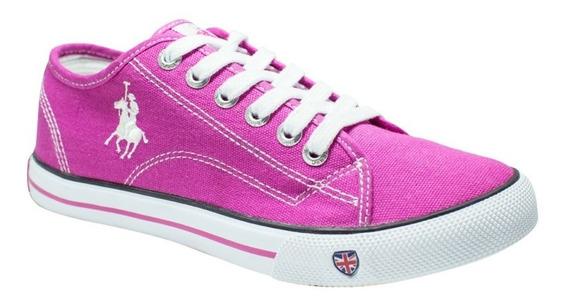 Tenis Zapato Dama Mujer Modelo Cw-801-24 Polo Club Rcb