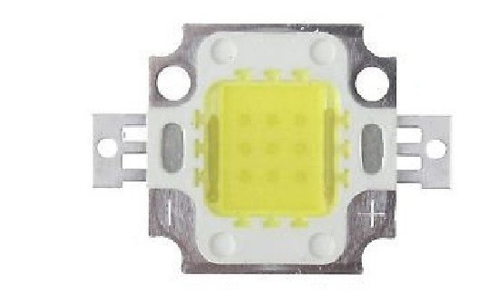 Led 10w Chip Power (blanco Frio) Para Reflectores