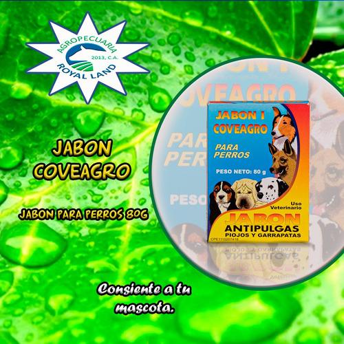 Imagen 1 de 1 de Jabón En Barra Para Perros Coveagro. 5unidades