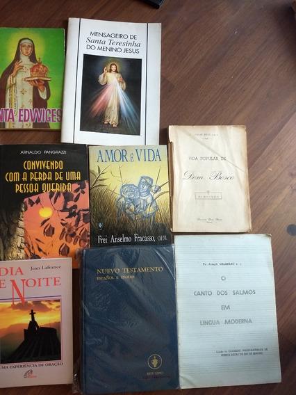 18 Livros Católicos Raros Antigos Jesus Maria Frete Grátis